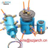 Multiple passage rotary joint 6 channels for hydraulic with input output port g1/8''