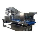 ultrasonic fresh dough slicer frozen ice cream cutting machine
