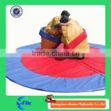 popular game inflatable sumo suits with mat for kids and adults