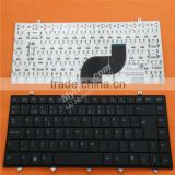 Original laptop keyboard for DELL Studio 14 BLACK Layout Nordic