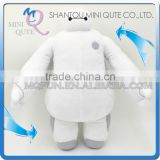 Mini Qute America Hot Rotatable hands cartoon model big hero 6 baymax stuffed plush dolls kids collect educational toys NO.BH014
