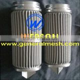 hydac filter cartridge, pleated filter cartridge in 316 s.s mesh