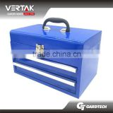 Metal tool storage box with two drawers in stock