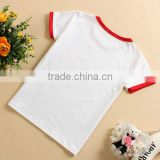 Bump marginT-shirt,blank sublimation 100% cotton and polyester t-shirt,Advertising shirt various colour can choose