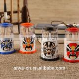 D457-SG Chinese Novelty Gift Household Utensils Automatic Plastic Toothpick Containers