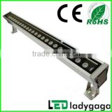 Professional LED wall washer supplier!2013 Hot and new AC110V,AC220V RGB, single color 12-36w high power led wall washer