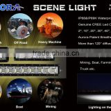 New Design 2''/10''/20''/30''40''/50'' Available 120 Degree Diffusion Beam Scene Led Working Light Bars