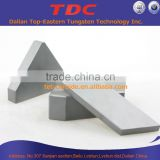 Tungsten carbide shield cutters for TBM
