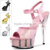 Pleaser shoes 17cm High Heel Slippers Platforms Party / Wedding Shoes sexy Pole Dance Shoes