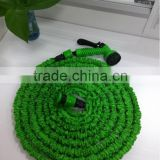 promotion plastic cheap price magic hose with green color cone spray gun