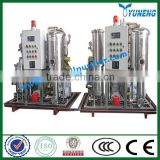 KYJ Fire-Resistant Oil / EHC hydraulic Oil Improvement Machine ( Vacuum Evaporation+ Acid Removal)