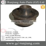 OEM NO.3523.92 auto front lower arm rear engine mounting bushing for PETGEOT 206 1.6L 1998
