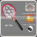 Cheap & Hot sale rechargeable mosquito swatter , electric mosquito racket
