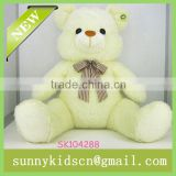 2014 HOT selling plush beige bear cheap carton plush toys for stuffed toy