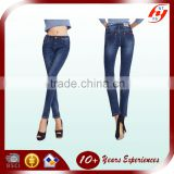 Latest cheap slim leg ladies jeans, beautiful sexy women tight jeans