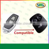 Rolling code Brand Compatible remote control,433mhz FAAC compatible remote control.SMG-004