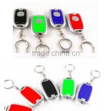 Newest bright mini led light high quality custom metal bottle opener keychain