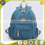 2016 amazing design customized casual teenagers laptop canvas backpack                                                                         Quality Choice