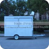 2014 Quick Delivery Mobile Mini Pizza Maker with Vintage Collection Slush Ice Food Cart Trailer XR-FV300 A