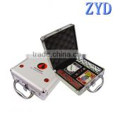 Universal casino game cards case,aluminum 300 pcs poker chip set case, custom poker chip case
