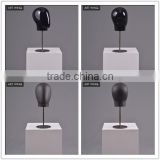 silver mini man modern mannequin heads for jewelry with long hair                                                                                                         Supplier's Choice
