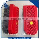 80 Grit Steel Wire Abrasive Brush great for log and wood home                                                                         Quality Choice