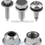 GI Bolts and Nuts (various types, common sizes and grades, accept special requirements)