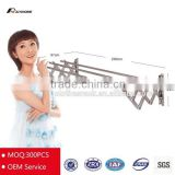 Push pull wall mounted hanger clohtes display rack hammer strength power rack dress rack rack systems OEM factory