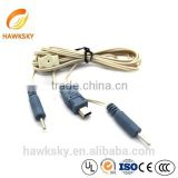 China Wholesale Custom-made Audio USB to Mini Din Cable Waterproof Connector Wire Harness Assembly