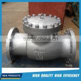 Carbon Steel automatic DIN PN64 swing check valve cast steel