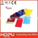 Colorful plastic cover/transparent binding cover/plastic pvc cover from HOPU                                                                         Quality Choice