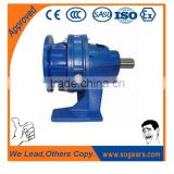 XW / XWD /XWED single or two stage cycloidal pin wheel gearbox with geared motor