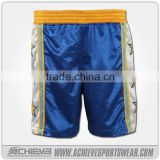 cheap wholesale custom youth sublimation wrestling uniform , wrestling clothing ,MMA shorts