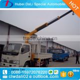 Hubei DALI small 2.5 ton truck crane with telescopic boom                                                                         Quality Choice