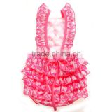 red lattice baby rompers lovely rompers solid color infant rompers jumpsuits baby girls