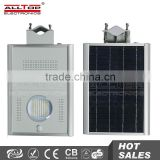 Outdoor ultra bright wholesale high lumen 12w all in one led solar garden light                                                                         Quality Choice