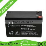 wholesale price lead acid battery 12v 7ah 20hr ups battery