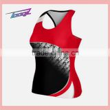 Dongguan OEM new stlye Cheer tank tops