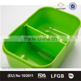 Bento Box with Moveable Divider, Food Grade, FDA Approved, BPA Free , Eco-friendly Material by Cn Crown