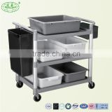 Hotel dining car,Double stainless steel dining car equipment