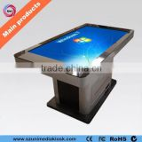 Modern wifi HD LCD 42 inch meeting room conference touch screen table coffee table manufacturer