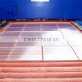 solar tempered glass/AR coated ultra clear tempered glass used as solar panel cover glass