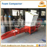 EPS foam block compacting machine,polystyrene foam block compactor,polystyrene blocks for sale