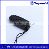 Wholesale Safe Waterproof Special 300mah Built-in lithium battery Motorcycle Helmet Bluetooth Stereo Headphones V1-10M