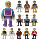 2016 hot items online plastic toys ABS materiel building blocks bricks bulk mini figures mixed DE00079-18