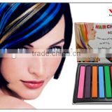 2014 TV hot selling 6colors tempory hair chalk for one time color hair