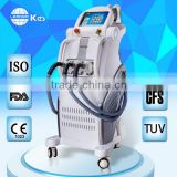 2.6MHZ Ipl Facial Wrinkles Removal Device Pain-free Ipl Shrink Trichopore Beauty Laser Ipl Rf Laser Beauty Machine Pigmented Spot Removal