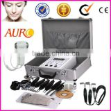 AU-2011UV skin Body fitness Professinal BIO electric skin lifting machine with hot cold hammer beauty machine
