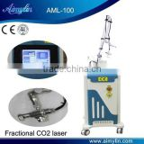 Fractional carbon dioxide laser for pigmented lesions/wrinkles/scars removal