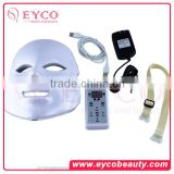 EYCO BEAUTY Blackhead Removal blackhead acne blemish pimple remover 7 colors LED Facial mask manufacture directure